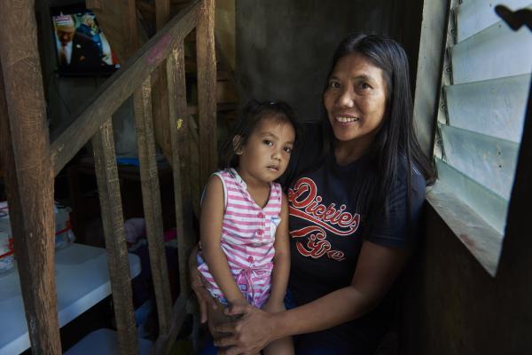 Philippines Urban Poor Woman