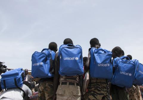 On 17 May 2018 in Pibor, South Sudan, 210 children were formally released from armed groups. During the release ceremony, the children were formally disarmed and provided with civilian clothes.