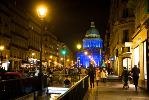 On 19 November 2019 in Paris, France, the Panthéon turned blue in honor of World Children's Day