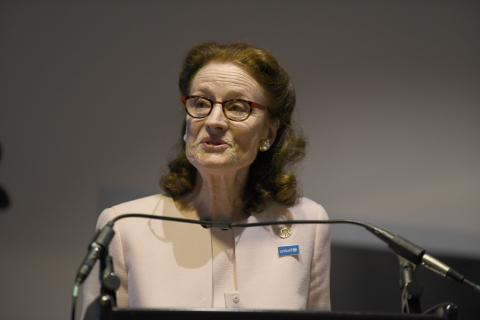 "On 23 September 2019 at UNICEF Headquarters, UNICEF Executive Director Henrietta Fore speaks at ""Early Childhood Development in Emergencies – What's New?"" a High-Level event."