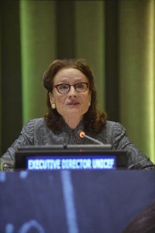 "On 25 September 2019, at a high-level commemorative event of the General Assembly on the ""Thirtieth anniversary of the adoption of the Convention of the Rights of the Child"" at the United Nations Headquarters."