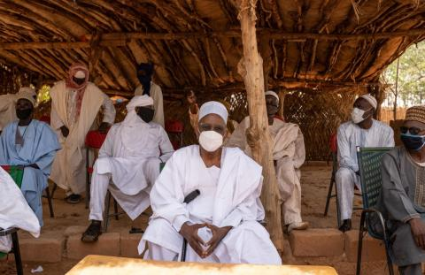 Niger. Amirou Albade is the President of the Association of Traditional Chiefs of Niger.