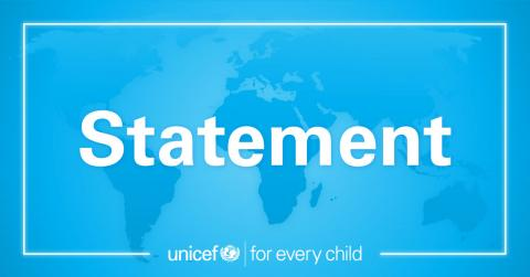 UNICEF Statement