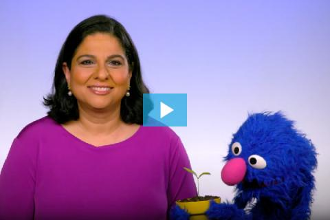UNICEF Pia Britto and Grover