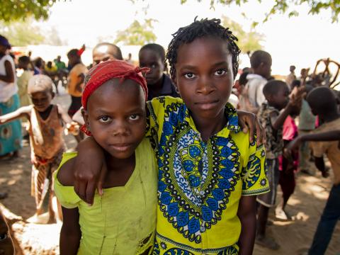 Dec. 4th 2020, Metuge, Cabo Delgado Province, Mozambique: Children at Metuge IDP camp