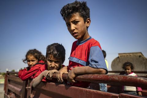 As violence escalates in northeast Syria, many children are at imminent risk of injury, death and displacement.