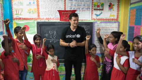 Orlando Bloom In Bangladesh