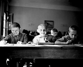 Explore UNICEF's past to understand where we are now, and where we are going, together.