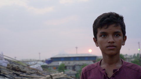 A boy looks into the distance, Bangladesh