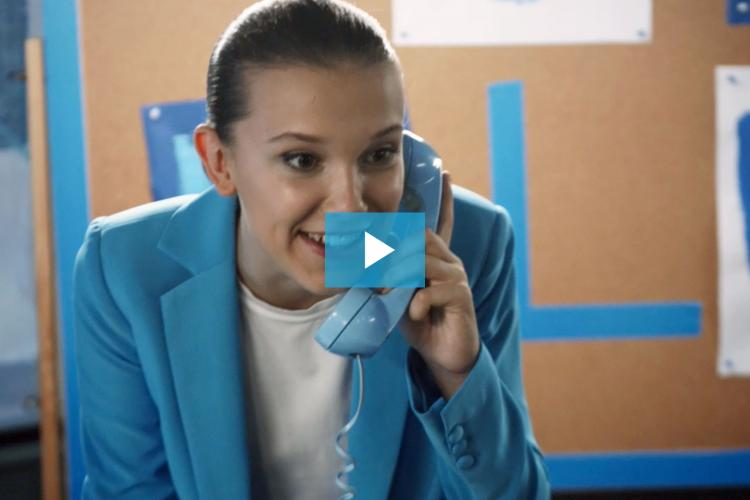 Millie Bobby 'Blue' leads cast of stars in new UNICEF video for World Children's Day