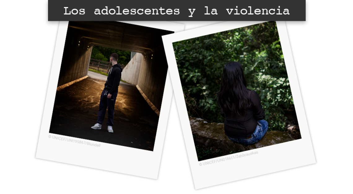 Adolescents and violence header SP