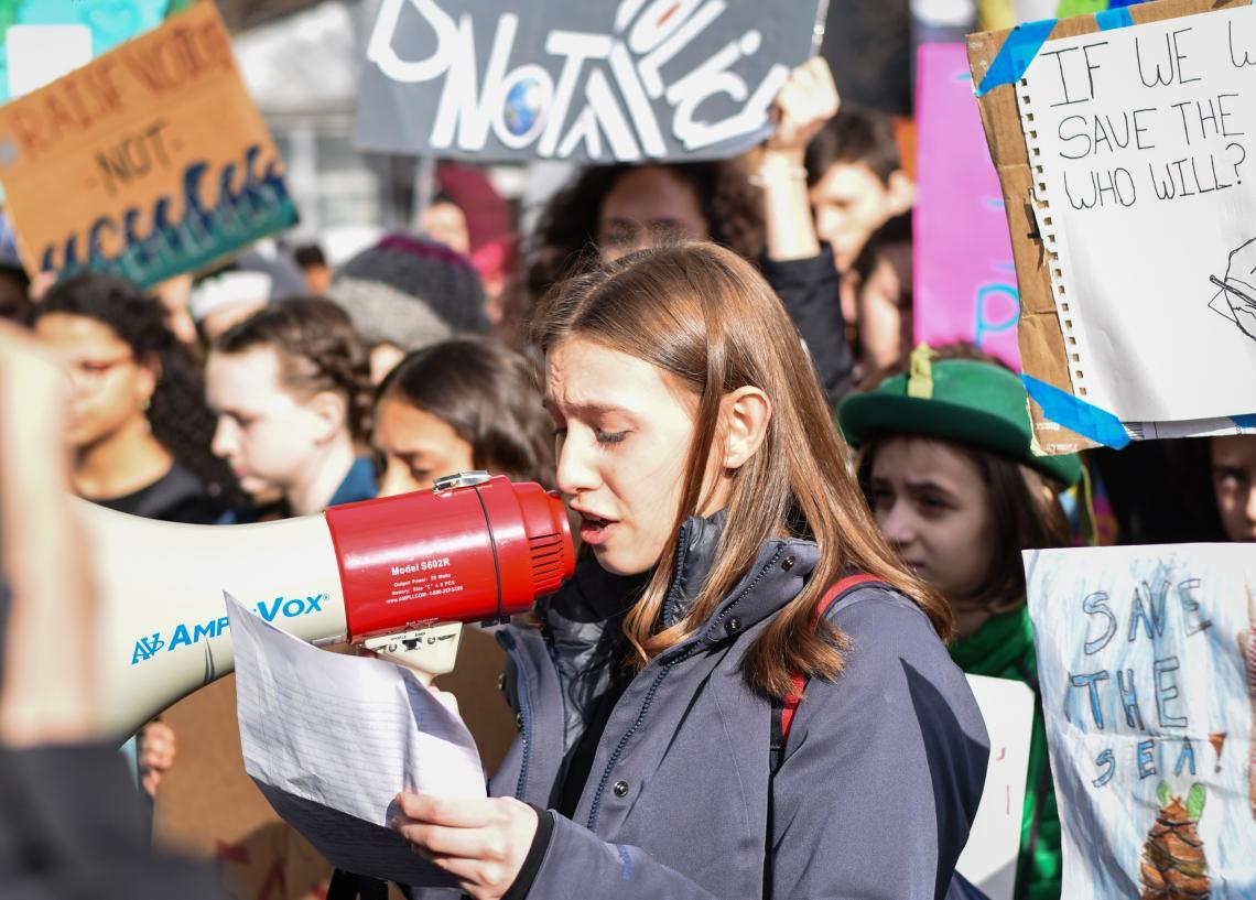 UN0302772 - La juventud en favor de la acción climática