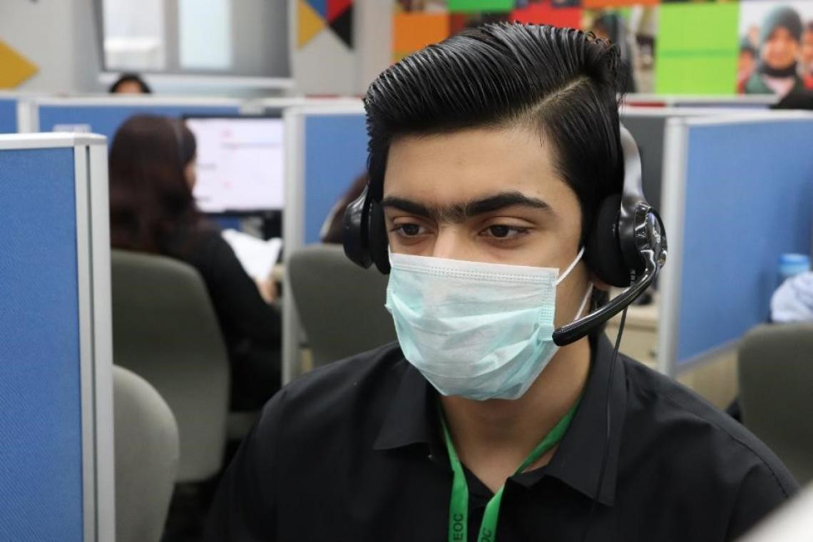 Daniyal Kiyani is a newly recruited helpline agent committed to helping people during this difficult time of COVID-19.