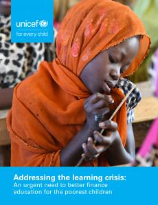 Addressing the learning crisis 2020 cover