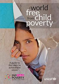 Cover page of A world free from child poverty report