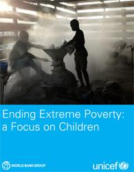 Cover page of ending extreme poverty report