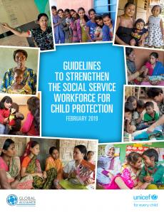 Guidelines to strengthen social service workforce for child protection