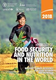 Cover page of The State of Food Security and Nutrition in the World 2018 report