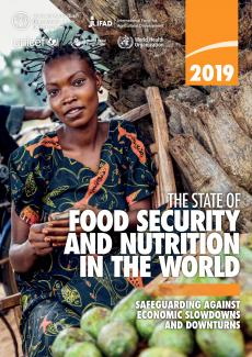 State of food security and nutrition 2019 cover