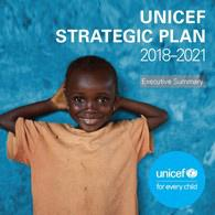 Cover page of UNICEF Strategic Plan, 2018–2021 report