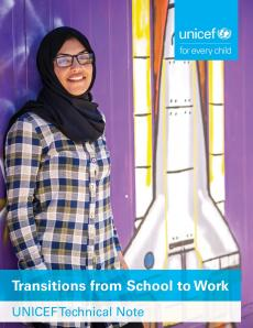 Transitions from school to work cover 2019