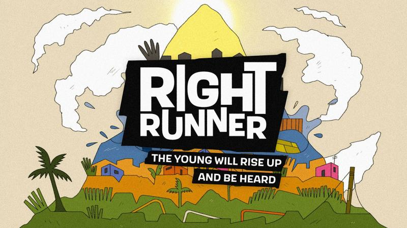 Right Runner game