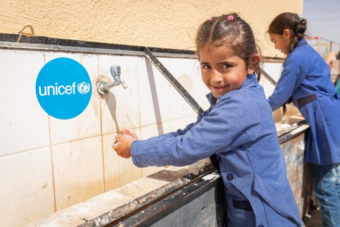 """I wash my hands so germs don't get on them,"" says Dareen, 6 years."