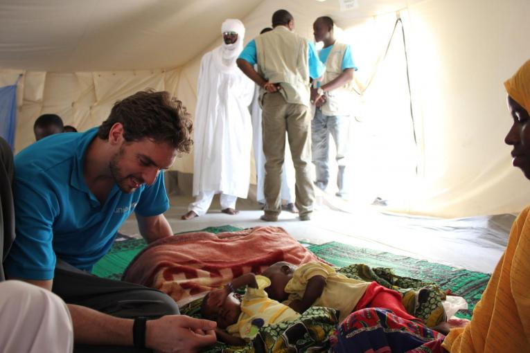 Pau Gasol appointed Global Champion for Nutrition and Zero Childhood Obesity by UNICEF