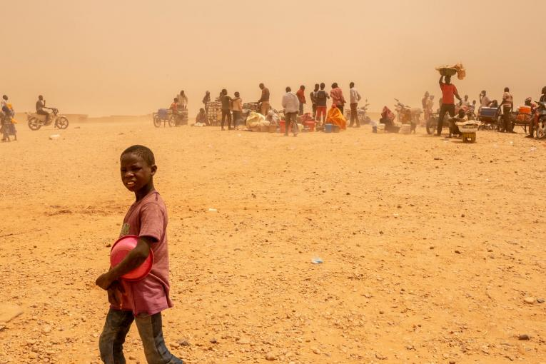 Refugees and migrants in Niger