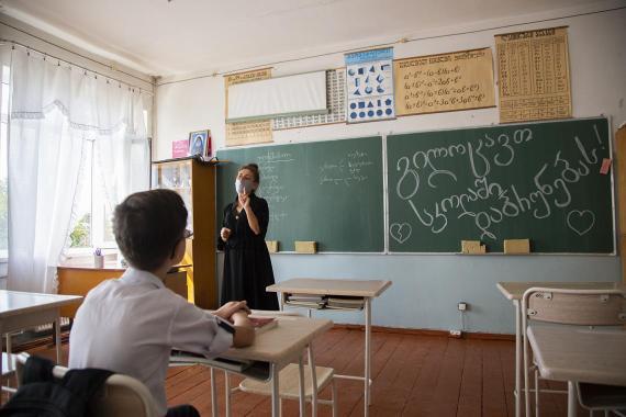 Regresar a la escuela en época de pandemia | UNICEF