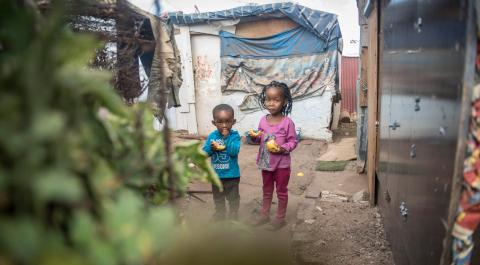 children-informal-settlement