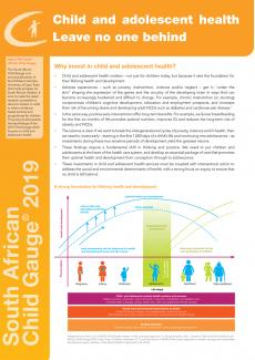 ZAF-Policy-brief-child-adolescent-health-child-gauge-2019-cover