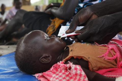 UNICEF estimates that 860,000 children will be acutely malnourished in 2019