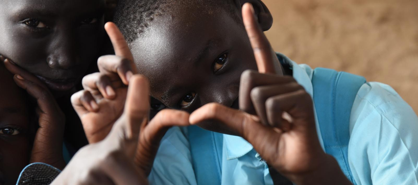UNICEF is working on realizing every child in South Sudan's rights