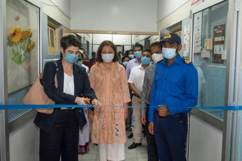 opening of the LRH unit