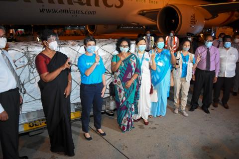 More doses of COVID-19 to arrive tonight under COVAX by UNICEF