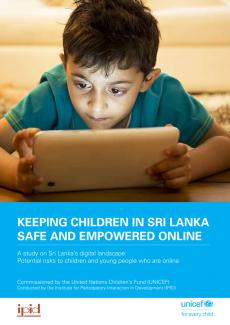 Keeping children in Sri Lanka safe and empowered online