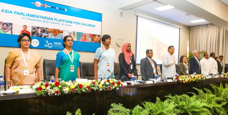 South asia parliamentarian forum for child rights