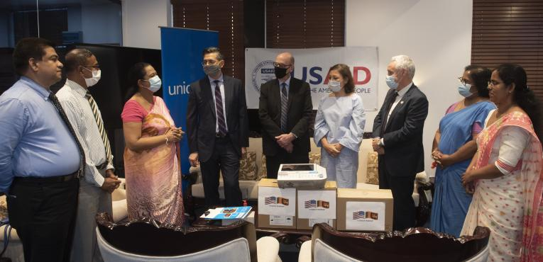 USAID UNICEF handover to MOH