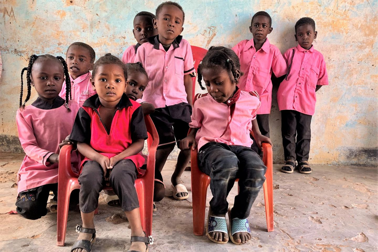 A classroom overflowing with colour and music in East Darfur   UNICEF Sudan
