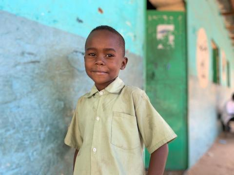 School boy in Sudan