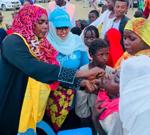 vaccination campaign in Sudan