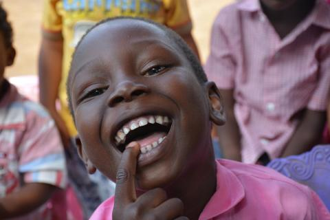 boys, Sudan, child protection, smiles, education, school