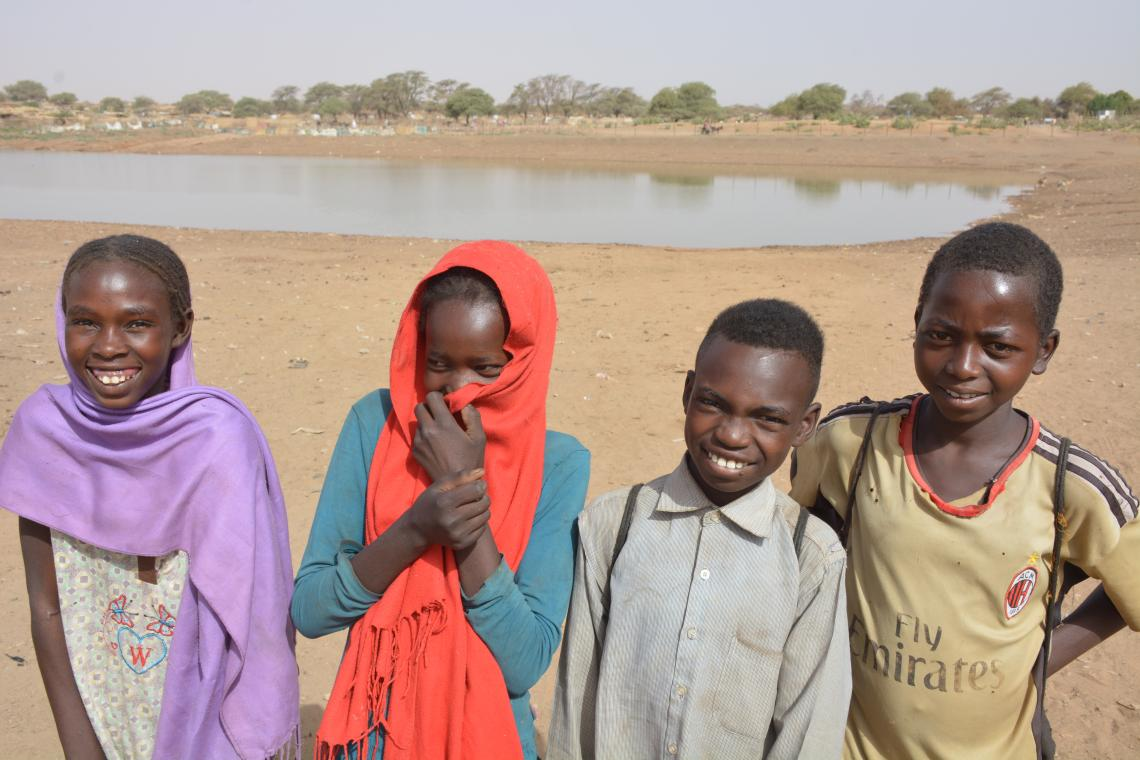 Young people in Sudan