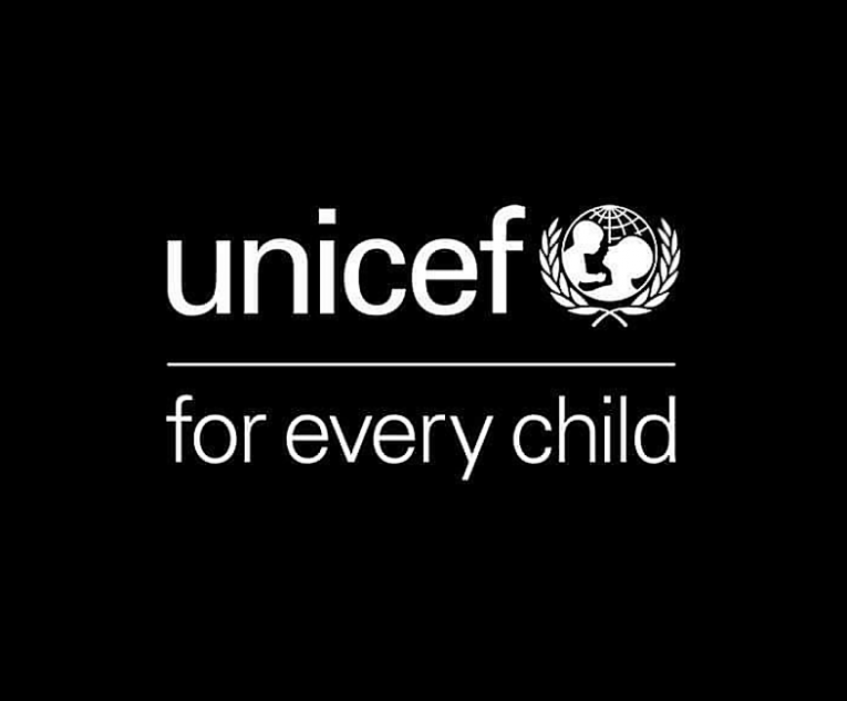 UNICEF logo black
