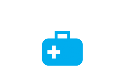 UNICEF health supplies icon
