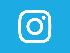 Instagram logo with UNICEF blue background