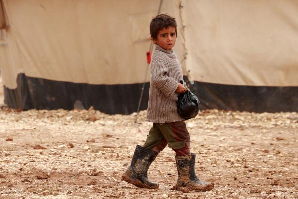 Children in camps in northeastern Syria up against a harsh winter | UNICEF  Syrian Arab Republic