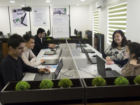 Impact Sourcing center in Dushanbe