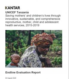Endline Evaluation Report (UNICEF-KOICA project)